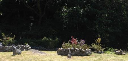 their beautiful garden!
