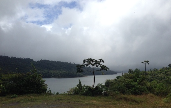 Stunning views at this reservoir