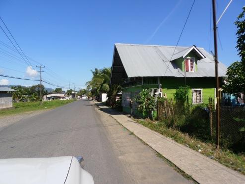 Cruising the streets of Almirante